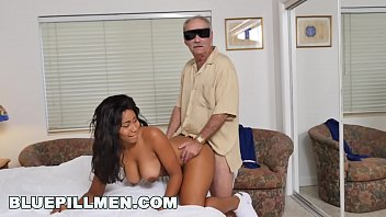 BLUE PILL MEN - Old Man Frankie Takes His Blue Pill And Goes To Town On Jenna Foxx preview image