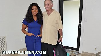 BLUE PILL MEN - Old Man Frankie Takes His Blue Pill And Goes To Town On Jenna Foxx thumbnail