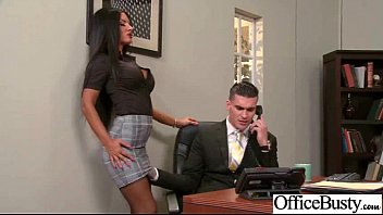 Slut Office Girl With Big Juggs Enjoy Sex movie-19