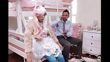 Pervert Dad Fucking His Daughter's Life Size Doll - Nipponteens.com