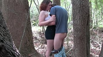 Young couple having sex in a forest - more videos SWEETGIRLCAM.COM