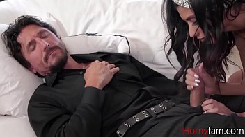 Sleeping Daddy Gets Blown By Teen Daughter- Angel Del Rey thumbnail
