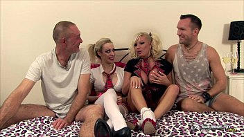 Michelle Thorne & Chessie Kay in orgy show preview image