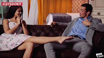 LETSDOEIT - Russian Brunette Babe Learns Spanish The Easy Way (Lovenia Lux) 11 min