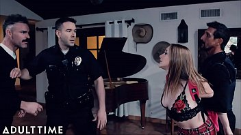 Cop Makes Angry Stepdad Spank Fucking CRAZY Outta Control Teen d.