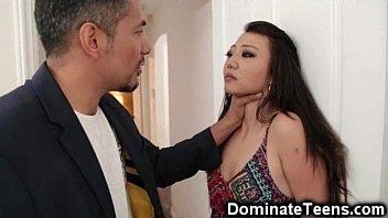 Asian Teen Gets Rough Punishment! pornhub video