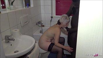 BBC Caught Fuck German m. of Best Friend Fuck Bathroom 8 min