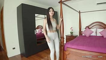 18yr old Asian TEEN creampie