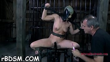 Anal hook movies - Clamped up playgirl gets a hook in her anal with toy torture