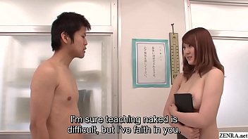 JAV star Momoka Nishina nudist school teacher HD Subtitled thumbnail