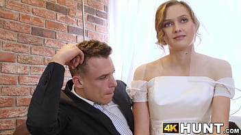 9700 Beautiful bride fucks stranger while hubby cuckolds preview