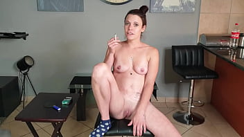 Dirty talking smoking slut wants you to use her as an ashtray 7 min