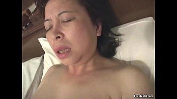 Asian granny sex video - Asian granny masturbates