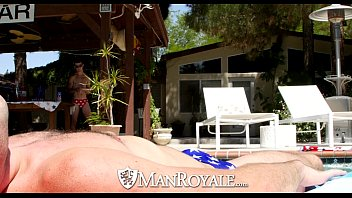 Manroyale - Dylan Knight Takes Vincent James Cock On 4Th Of July