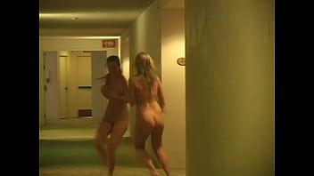 Lia And Alison's Nude Run: The Prowler (Gif Mode)