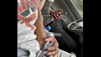 Young Slut Finger Fucked In Car