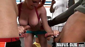 (Ava Cash, Rainia Belle, Cali Carter) - Orgy At The Gym - Real Slut Party