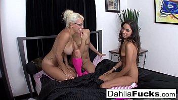 Pink socks fucked Three-way pink sock lesbians