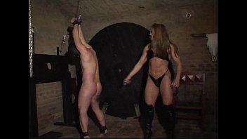 Domination female muscle Mysteria wrestling domina