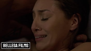 Nathan Shove His Cock Deep In (Bella Rollands) Cunt And Jizz On Her Wet Pussy - Bellesa