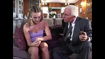 Mature couple and girl Young girl gets fucked by old couple