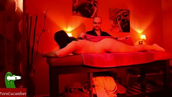 Happy time on the massage table.SAN68