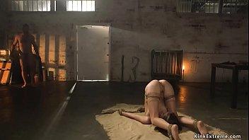 Big dick master fucks little slave