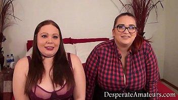 Casting Gem and Zia big tits Desperate Amateurs group fun