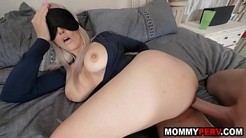 Blindfolded mom tricked to fuck her own step son Porno indir