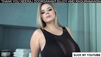 Gorgeous mystery shopper model huge boobs - Vivian blush - busty curvy model