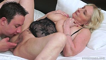 Best matures Granny and her younger lover