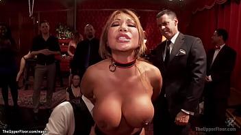 Huge tits bound slut anal pounded