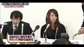 Japanese Wife Undressed,apologized On Stage,humiliated Beside Her Husband 02 Of 02-01