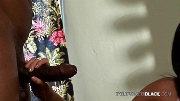 PrivateBlack - Hot Brunette Ashley Blue Gets Anal Creampie! thumbnail