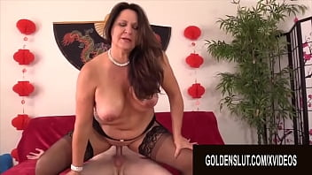 Golden Slut - Horny GILFs Mounting Dicks in Reverse Cowgirl Compilation