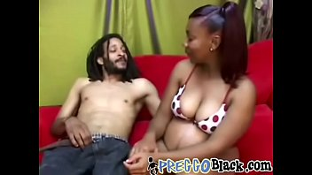Pregnant Ebony Cookie Sucks Fat Dick And Gets Creamy Pussy Banged