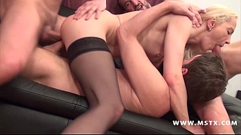 alicia-milf gang-bang
