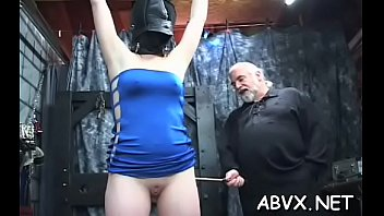 Flaming nude spanking and non-professional extraordinary bondage porn thumbnail