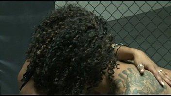 Black slut fucked by an mma fighter