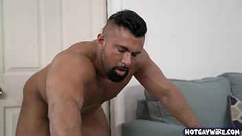 Two hot studs having hot sex - gay porn 5 min