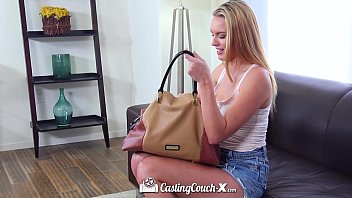 CastingCouch-X - Cute blonde Cali girl Cosima Knight first audition 11 min