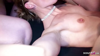 Extreme Creampie Gangbang Swinger Sex with German MILF Lacy 20 min