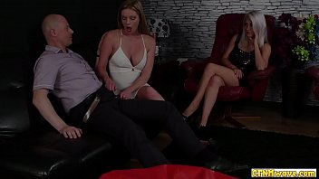 Femdom Babes Share Cocksucking Action