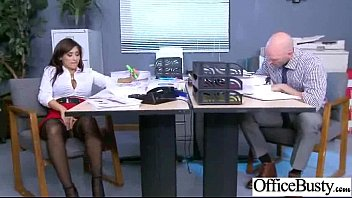 Sex In Office Class With Big Juggs Worker Girl video-02