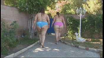Obese double amateur women orgy sex with slim man
