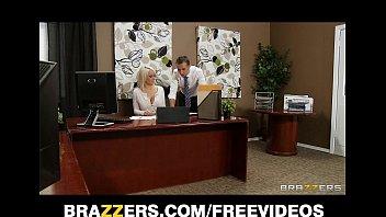 Stunning busty bombshell Lexi Swallow seduces her boss thumbnail