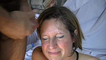 Ms Amy's gangbang facial