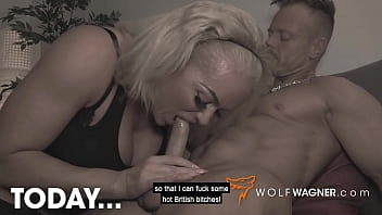 Horny Dominant British Boss Mature Milf REBECCA JANE SMYTH graves MUSCULAR dick! WolfWagner.com