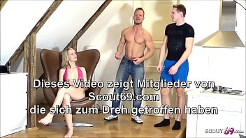 Two Guys Tricked Skinny German Teen Jenny Smart in Rough Threesome 8 min