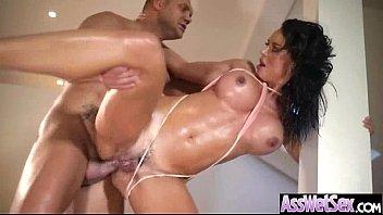 Hardcore Anal Sex Scene With Big Butt Oiled Girl (franceska jaimes) movie-14